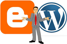 Blogger.com or WordPress