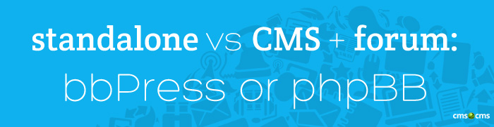 cms2cms-standalone-vs-cms-forum-bbpress-or-phpbb