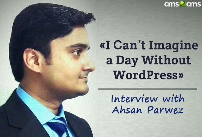Interview with Ahsan Parwez